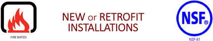 New or Retrofit Installations