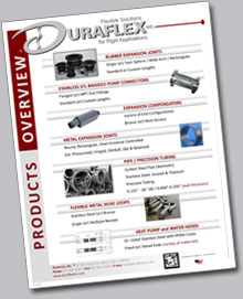 Duraflex Product Overview Brochure