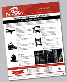 Duraflex Transportation Products